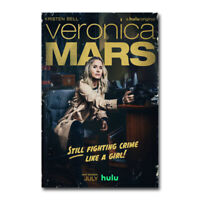 Veronica Mars TV Series Poster Kristen Bell Season 4 Silk Canvas Poster 24x36''