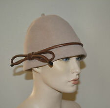 NWT BURBERRY PRORSUM $650 RABIT HAIR FELT HAT SZ S/M MADE IN ITALY