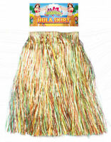 Hawaiian Hula Skirt - 31cm x 60cm -  Luau Grass Tropical Long Party