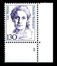 BUND Frauen  130 Pf** postfrisch, Mi. 1366, Eckrand u.r. Formnummer 3