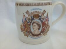 Queen Elizabeth II 1953 Coronation commemorative mug, Cartwright & Edwards