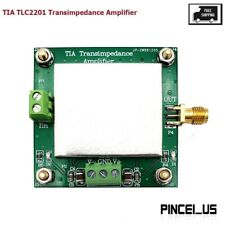 Tia Tlc2201 Transimpedance Amplifier For Weak Current Iv Conversion Preamplifier