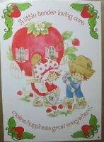 Vintage New Strawberry Shortcake (Loving Care) Poster # 13-483
