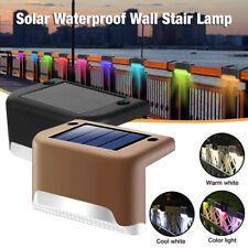 Solar LED Bright Deck Lights Outdoor Garden Patio Railing...