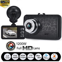 "2.4 "" HD 1080P CAR DVR G-sensor Night Vision Camera Recorder Dash Cam Camcorder"