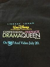 Walt Disney Pictures Confessions Of A Teenage Drama Queen Lindsay Lohan T-Shirt