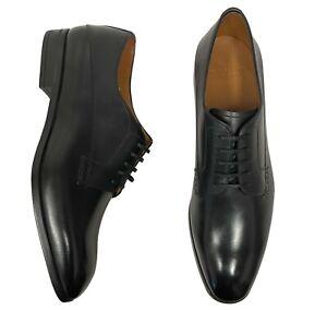 Bally Men's Shoes Size 10 EEE ( UK 10 ) Black Plain Toe Derby Oxfords - Lantel