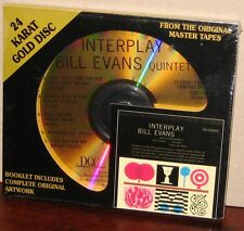 DCC GOLD CD GZS-1102: BILL EVANS Quintet - Interplay - OOP 1996 USA SEALED