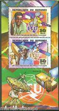 BURUNDI   2015  INTERNATIONAL TELECOMMUNICATIONS UNION COLLECTIVE SHEET  OF TWO