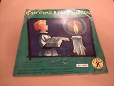"THE LINDEN SINGERS "" OUR BEST LOVED HYMNS "" 7"" EP SINGLE VERY GOOD"