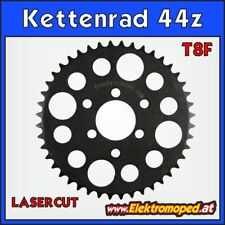 "Ersatzteil Elektro-Roller T8F-44z Laser Kettenrad 44 Zähne ""dicke Kette"" T8F"