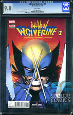 ALL NEW WOLVERINE #1 - CGC 9.8 - SOLD OUT - FIRST PRINT - FEMALE RELAUNCH