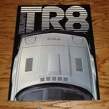 Original 1979 Triumph TR8 Foldout Sales Brochure 79