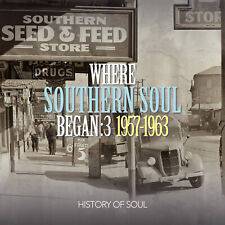 Where Southern Soul Began 1957-1963 - Volume 3 2CD sealed but case cracked