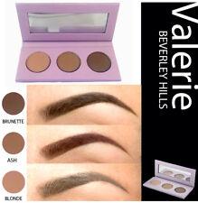 Valerie Beverly Hills Three Pallet Eye Brow Kit: Blonde, Brunette, Ash $35