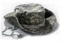 Airsoft Tactical Military Outdoor Fisherman Hunting Boonie Hat Cycling Cap ACU