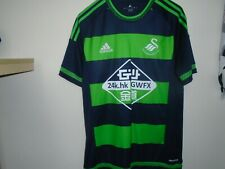 swansea city vintage   away shirt adidas size small