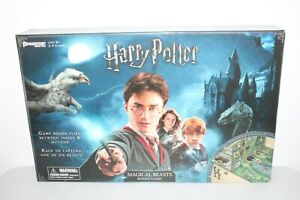 HARRY POTTER MAGICAL BEASTS BOARD GAME COMPLETE PRESSMAN