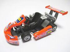 Go Kart Go-Kart Renncart Metal Diecast Model Orange 1:18?? New
