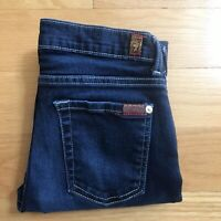 Seven 7 for All Mankind Womens Jeans The Skinny Size 14 Juniors 24 x 26 $159.00