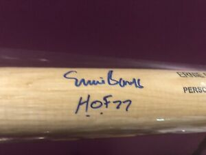 Ernie Banks Autographed Bat-PSA/DNA Certified