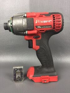 Bauer 1781C-B1 Hypermax Compact Impact Driver ** FOR PARTS OR REPAIR ONLY!! **