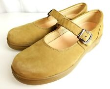 Dr Comfort Womens Size 10 Beige Leather Merry Janes Diabetic Therapeutic Shoes
