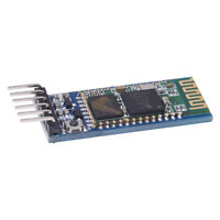 Wireless Serial 6 Pin Bluetooth RF Transceiver Module HC-05 RS232 With back X3A7