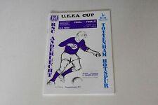 More details for uefa cup final (1st leg) (1984) anderlecht v tottenham h programme (mint)