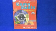 Used The Complete Guide to Game Audio by Aaron Marks with CD 1578200830 VG+