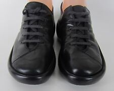 ROBERT CLERGERIE France Black Leather Platform Oxford Women's US 7 B Walking