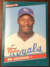 1986 Donruss The Rookies Set Break # 38 Bo Jackson NR-MINT In protective holder