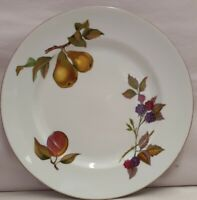 Royal Worcester Evesham Oven to Table Ware Salad Plate Made in England c1961-87