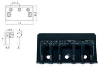 Ponte bridge fisso per chitarra elettrica nero black Boston b-1500-b