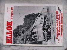 Ellok Report 2/1979 Eisenbahn Zeitschrift Phasenumformerlok 1082 BBÖ BDe3/4