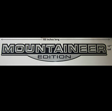 XL MOUNTAINEER EDITION RV CAMPER HORSE TRAILER DECAL