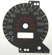Lockwood Mitsubishi FTO BLACK Dial Conversion Kit C010