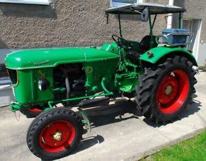 Traktor Schlepper Oldtimer Deutz D40 L Deutz D40.2 Baujahr 1965