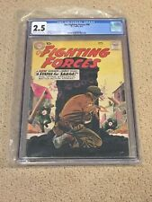 Fighting Forces 48 CGC 2.5 OW/White Pages (Classic DC War- 1959!!)
