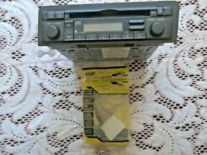 2001-05 Honda Car Stereo CD PN 39101-S5P-A510-M1 with New Plug Harness 1986-98