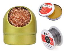 alambres para soldar y pasta de rosina plomo soldadura electrica destornillador