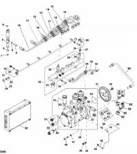 John Deere Fuel Injection Pump Valve RE515637, RE524806
