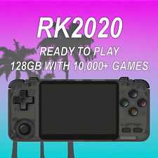 RK2020 Retro Handheld Console w/ 128GB Ready to Play - US Seller - Custom OS