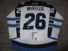 Blake Wheeler Winnipeg Jets Signed Autographed Jersey w/ Jsa Coa New Medium