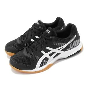 Asics Gel-Rocket 8 Black White Gum Men Volleyball Shoes Sneakers B706Y-012