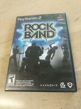 Rock Band PlayStation 2 PS2