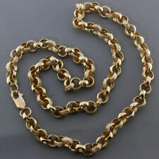 "NEW Heavy 9ct Yellow Gold Fancy Belcher Chain 22"" 34.3G RRP £1400 {C16}"