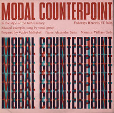 William Geib - Modal Counterpoint in the Style of the 16th [New CD]