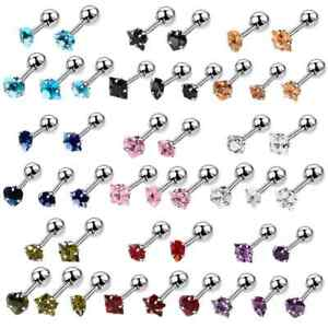 6mm 16g Stainless Steel Barbell Tragus Lobe Helix Cartlidge BUY 2 GET 1 FREE!!!