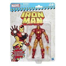 "New Iron Man Retro Marvel Legends Vintage Series 6"" IN HAND figure"
